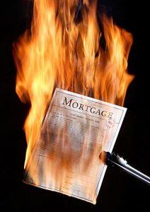 Mortgage-burning